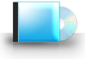 CD Case - Blue